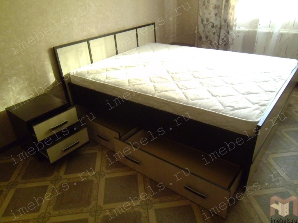 Кровать сакура с ящиками схема сборки фото 393