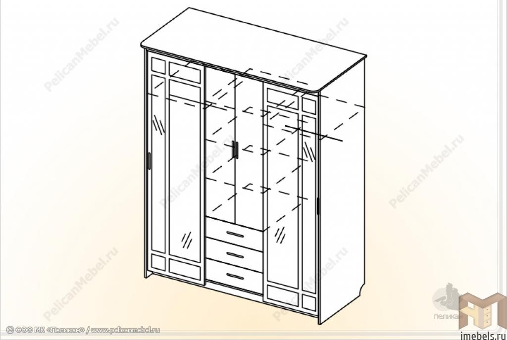 инструкция по сборке шкаф купе уют-3